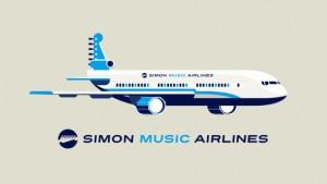 simon_music_airline_illust_logo_s2